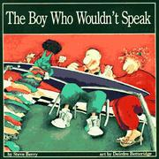 Cover of: The Boy Who Wouldn't Speak