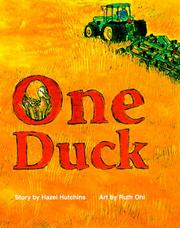 Cover of: One Duck | Robert Maynard Hutchins