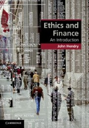 Cover of: Ethics And Finance An Introduction