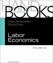 Cover of: Handbook Of Labor Economics