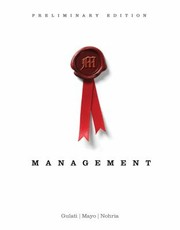 Cover of: Management