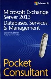 Cover of: Microsoft Exchange Server 2013 Databases Services Management Pocket Consultant