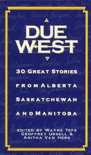 Cover of: Due west