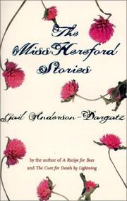 Cover of: The Miss Hereford stories |