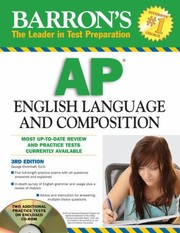 Cover of: Barrons Ap English Language And Composition