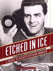 Cover of: Etched in ice