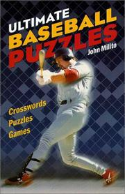 Cover of: Ultimate Baseball Puzzles | John Milito