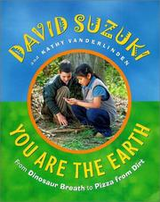Cover of: You are the earth