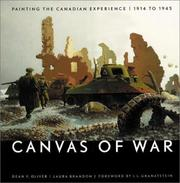 Cover of: Canvas of War | Dean F. Oliver