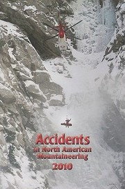Cover of: Accidents In North American Mountaineering 2010