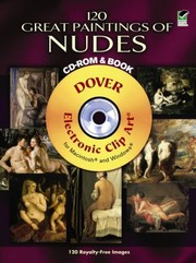 Cover of: 120 Great Paintings Of Nudes Cdrom And Book