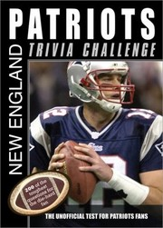 Cover of: New England Patriots Trivia Challenge