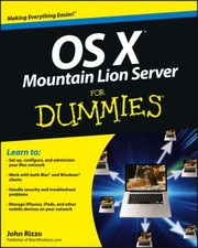 Cover of: Os X Mountain Lion Server For Dummies
