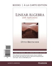 Cover of: Linear Algebra With Applications Books A La Carte