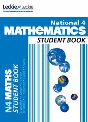 Cover of: National 4 Mathematics Student Book