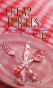Cheap Thrills by Simon Dardick, Nancy Marrelli