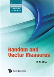 Cover of: Random And Vector Measures