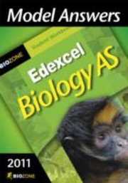 Cover of: Model Answers Edexcel Biology AS
