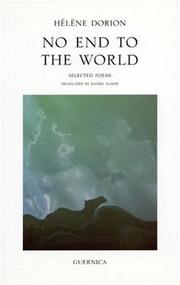 Cover of: No End to the World | Helene Dorion