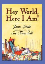 Cover of: Hey world, here I am!
