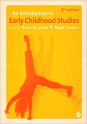Cover of: An Introduction To Early Childhood Studies