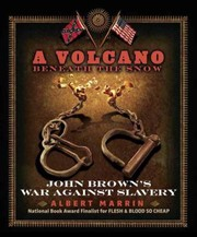 Cover of: A Volcano Beneath The Snow John Browns War Against Slavery