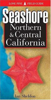 Cover of: Seashore of Northern and Central California