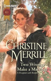 Cover of: Two Wrongs Make A Marriage