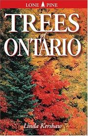 Cover of: Trees of Ontario | Linda Kershaw