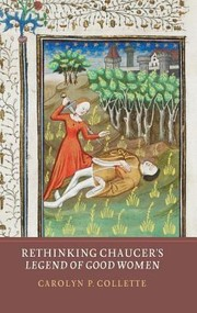 Cover of: Rethinking Chaucers Legend Of Good Women