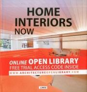Cover of: Interior Design Now