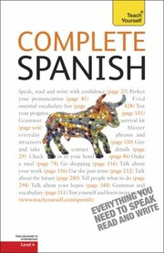Cover of: Complete Spanish