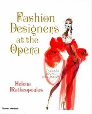Cover of: Fashion Designers At The Opera