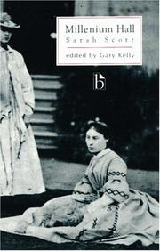 Cover of: A Description of Millenium Hall (Broadview Literary Texts) (Broadview Literary Texts)