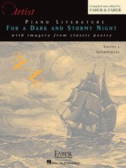 Cover of: Piano Literature For A Dark And Stormy Night With Imagery From Classic Poetry