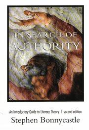 Cover of: In Search of Authority