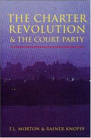 Cover of: Charter revolution and the Court Party | F. L. Morton