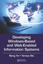 Cover of: Developing Information Systems For Windows And Web Applications In Engineering Business And Science