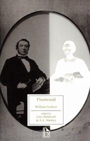 Cover of: Fleetwood, or, The new man of feeling | William Godwin
