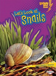 Cover of: Lets Look At Snails