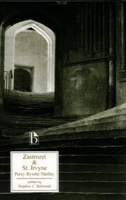 Cover of: Zastrozzi: a romance