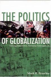 Cover of: The politics of globalization | Mark R. Brawley