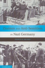 Cover of: Zionism And Antisemitism In Nazi Germany