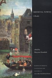 Cover of: Medieval Towns | Maryanne Kowaleski