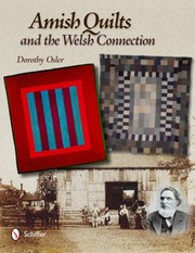 Cover of: Amish Quilts And The Welsh Connection