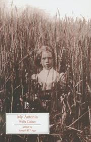 Cover of: My Ántonia (Broadview Literary Texts)
