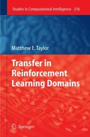 Cover of: Transfer In Reinforcement Learning Domains