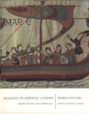 Cover of: Readings in Medieval History 3/e Volume I