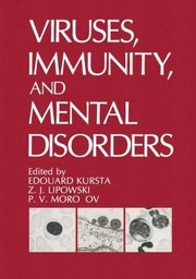 Cover of: Viruses Immunity And Mental Disorders