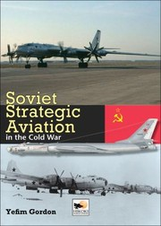 Cover of: Soviet Strategic Aviation In The Cold War